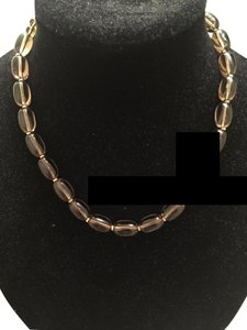 Zales Smoky Quartz Necklace