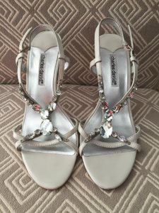 Charles David Charles David Wedding Shoes Jeweled Sandals Wedding Shoes