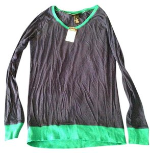 Rue 21 T Shirt dark blue, green