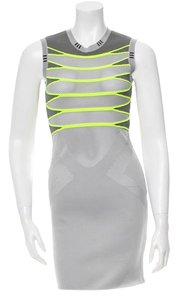 Alexander Wang Bodycon Neon Sleeveless Dress