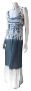 Gray Maxi Dress by Michael Stars Long Full Length Stretchy Beach 7677