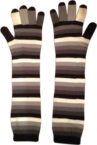 Long Striped Gloves