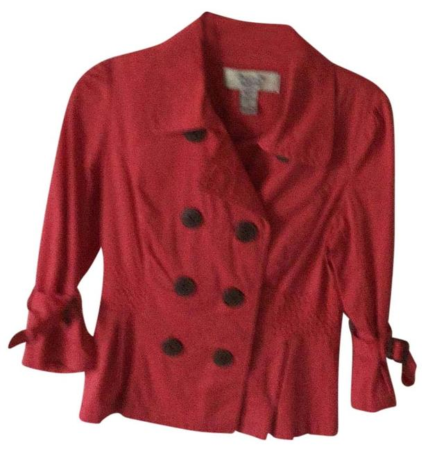 American Rag Muted coral Blazer Image 1