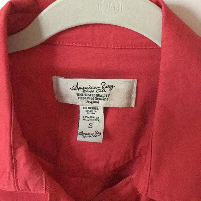American Rag Muted coral Blazer Image 3
