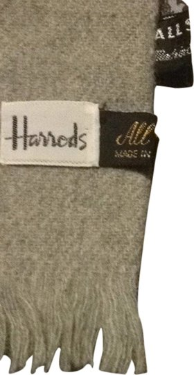 Harrods Harrods All Wool All Silk Scarf