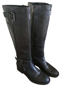 Enzo Angiolini Tall Riding Black Boots