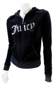 Juicy Couture Black Velour Track Jacket