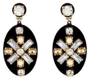 Tory Burch Tory Burch Crystal Drop Post Earrings
