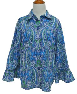 Robert Graham Button Down Shirt Multi Paisley