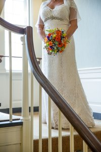 David's Bridal Ivory Lace Wedding Dress Wedding Dress
