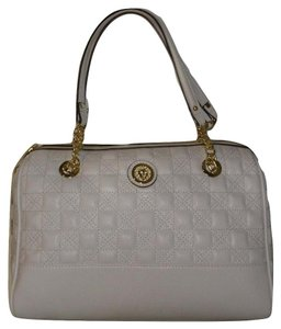 Anne Klein Gold Quilted Shoulder Bag