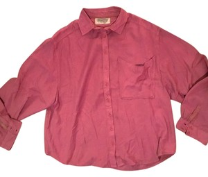 Ecote Urban Outfitters Blouse Button Down Shirt Mauve