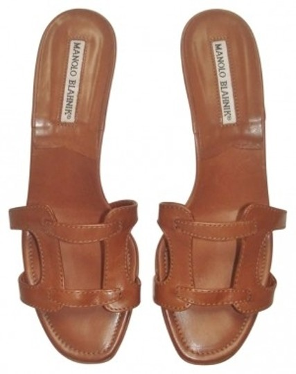 Preload https://img-static.tradesy.com/item/156957/manolo-blahnik-brown-sandals-size-us-65-0-0-540-540.jpg