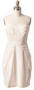 MM Couture short dress Ivory on Tradesy