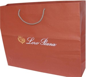Loro Piana NEW HUGE Loro Piana shopping bag 24x19