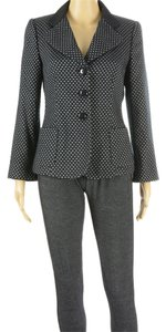 Armani Collezioni Glamour Boyfriend Night Out Dark Navy Blazer