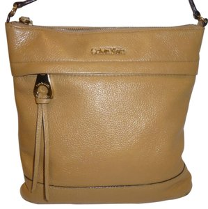 Calvin Klein Reconditioned Leather Lined Cross Body Bag
