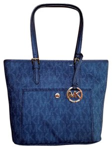 Michael Kors Tote in Baltic Blue