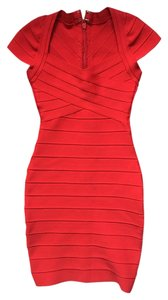 HL short dress Red on Tradesy