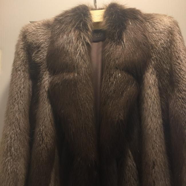 Marshall Fields Private Fur Collection Fur Coat Image 1