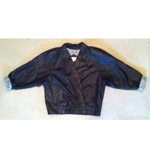 Winlet Vintage Leather Moto Motorcycle Jacket