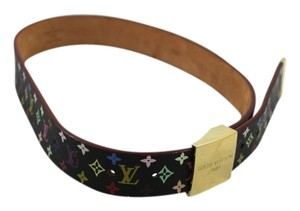 Louis Vuitton Louis Vuitton Mini Monogram Multicolor Belt