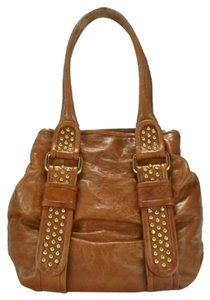 Treesje Satchel in Cognac
