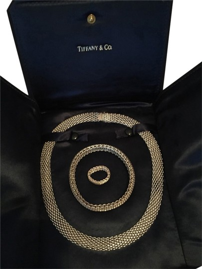 Tiffany & Co. Tiffany Somerset Necklace Bracelet And Ring