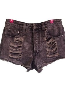 MINKPINK Denim Shorts-Acid