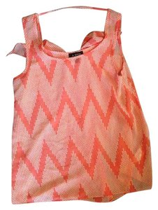 A. Byer Top orange/pink