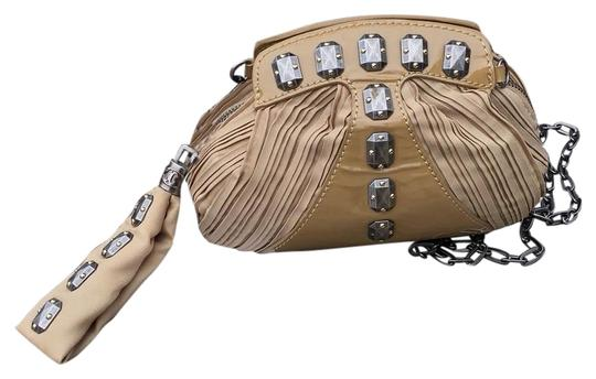 Just Cavalli Tan Clutch