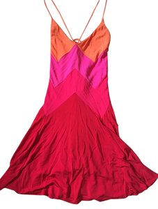 Juicy Couture short dress orange, red and pink on Tradesy