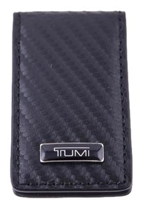 Tumi Tumi Men's Magnetic Money Clip Embossed Leather