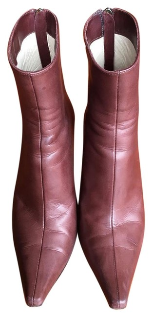 Item - Brown Daisy Rust Calf Leather Boots/Booties Size US 6 Regular (M, B)