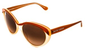 David Yurman Floating Logo DY079 Havana Fade Polarized Brown Gradient