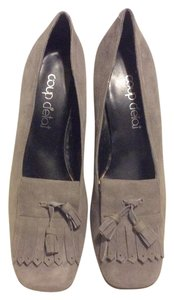 Coup Detat Grey Pumps