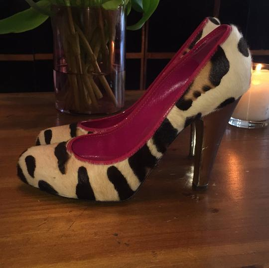 Moschino leopard Pumps