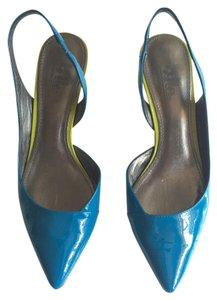 Sigerson Morrison Blue Wedges