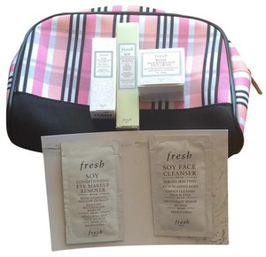 Fresh Fresh Deluxe Samples and Lancome Makeup Bag