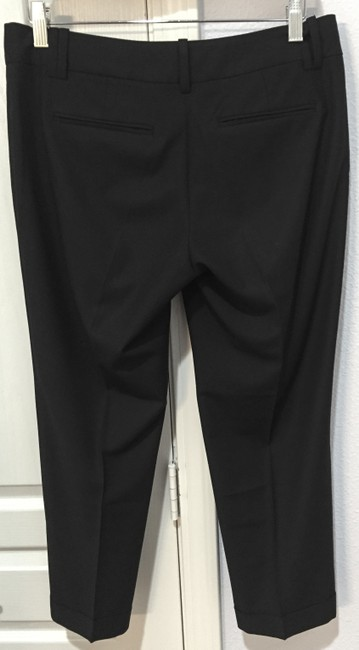 Ann Taylor LOFT Retail Versatile Smart Casual Work-appropriate Marissa Fit Capris Black Image 1