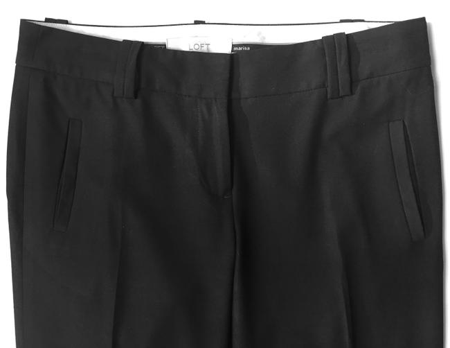 Ann Taylor LOFT Retail Versatile Smart Casual Work-appropriate Marissa Fit Capris Black Image 2