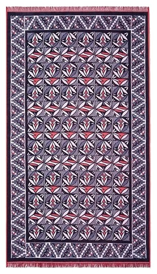 Preload https://img-static.tradesy.com/item/15701755/tory-burch-multicolor-poppy-red-navy-cotton-beach-towel-0-1-540-540.jpg