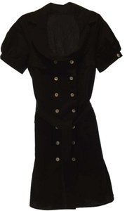 Anne Fontaine short dress black Trench on Tradesy