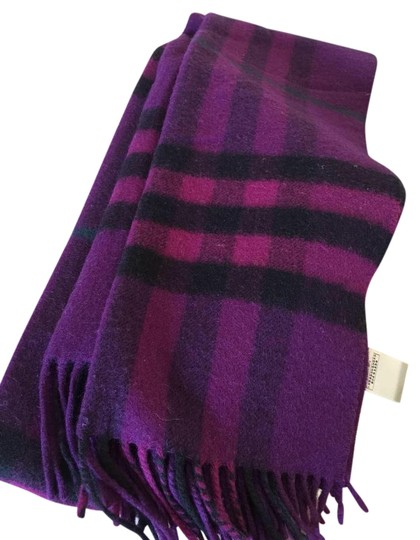 Preload https://img-static.tradesy.com/item/15701884/burberry-purple-cashmere-scarfwrap-0-1-540-540.jpg