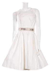 PURE. by Justin Alexander short dress White on Tradesy