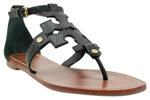 Tory Burch Gladiator Sandal Black Sandals