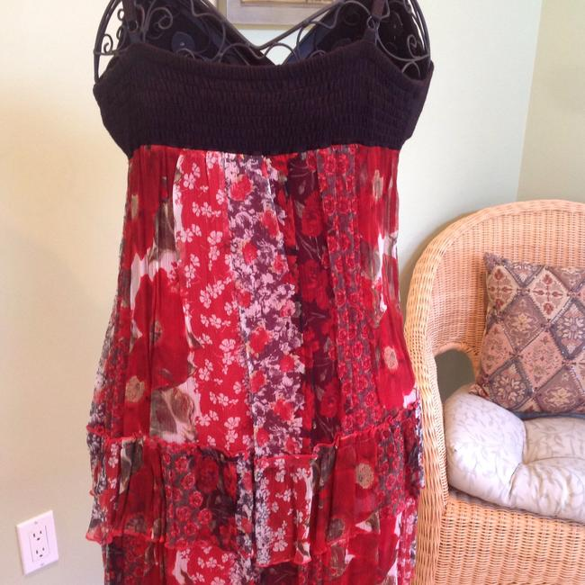 Guess short dress Black/Red on Tradesy