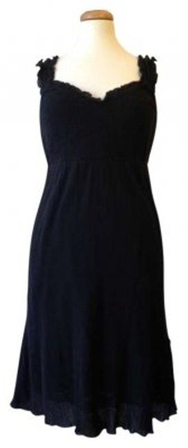 Anthropologie short dress Black on Tradesy