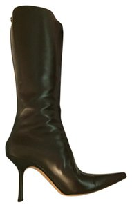 Jimmy Choo Worn Once Brown Zips Up Back COFFEE Boots