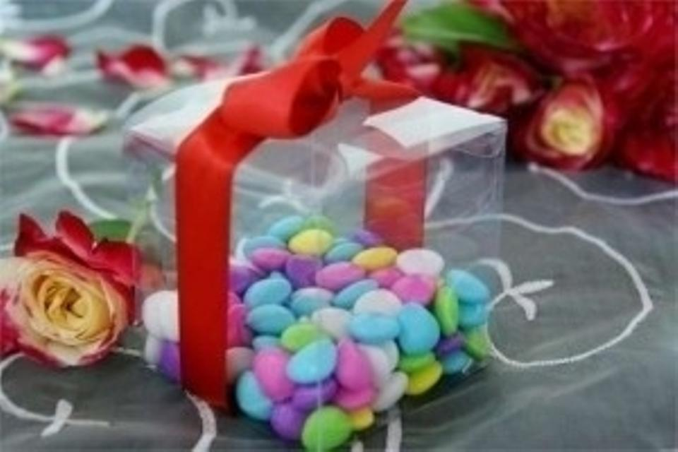 Clear Plastic 100 Boxes (3 Wedding Favors - Tradesy
